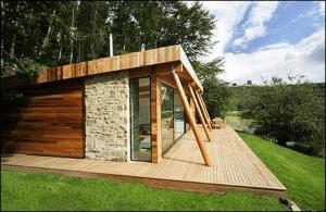 Villa in the woods